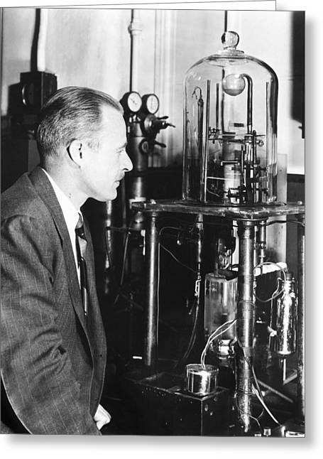 Walter Brattain, Us Physicist Greeting Card by Science Photo Library