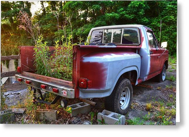 Weathered Truck Greeting Card