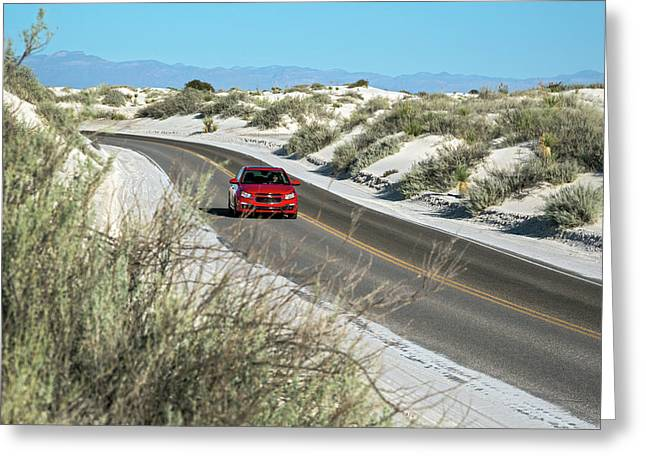 White Sands National Monument Greeting Card by Jim West