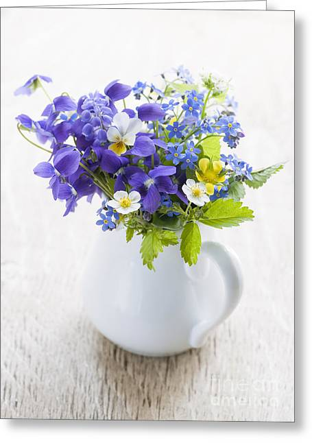 Wildflower Bouquet Greeting Card
