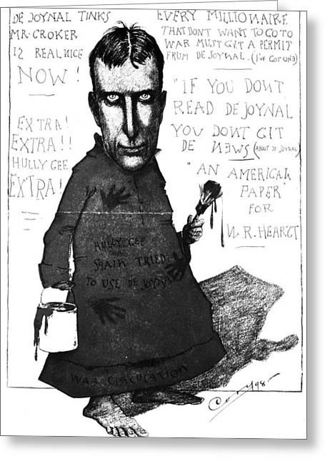 William Randolph Hearst (1863-1951) Greeting Card