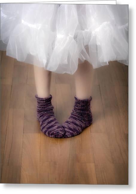 Woollen Socks Greeting Card