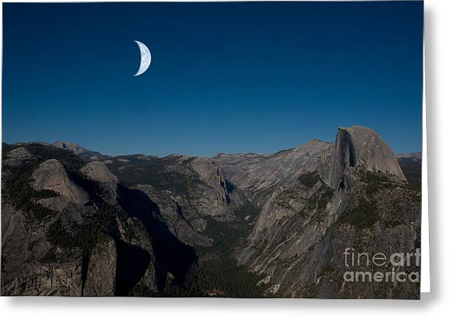 Yosemite National Park Greeting Card by Mark Newman