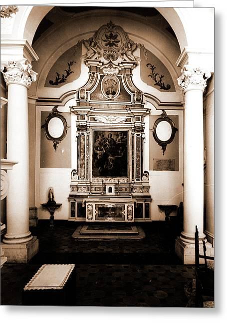 Abruzzo, Laquila, Sulmona Greeting Card