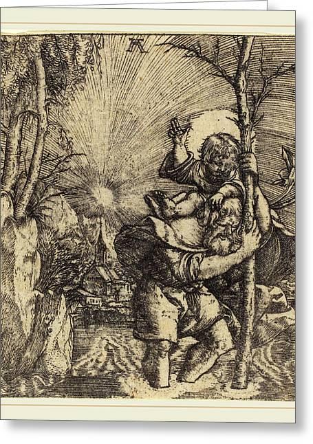 Albrecht Altdorfer German, 1480 Or Before-1538 Greeting Card