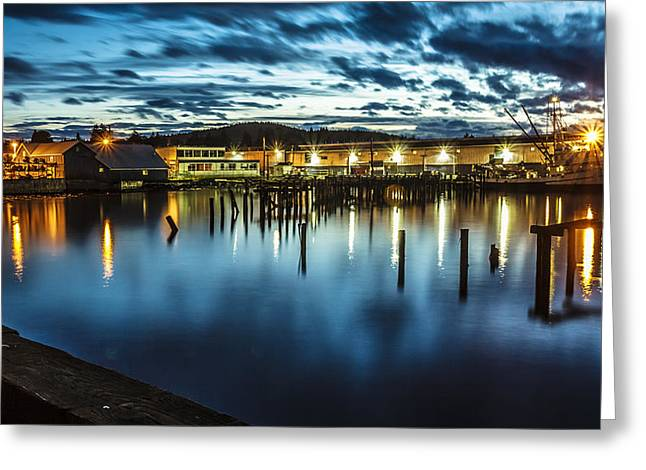 30 Sec Of The Blue Hour Greeting Card