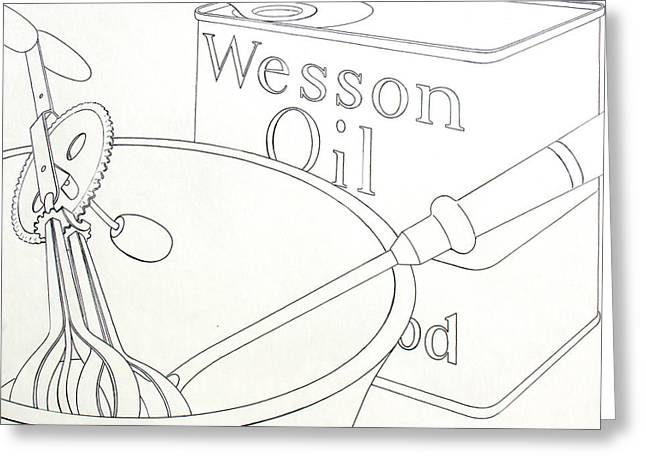 Wesson Oil Greeting Card