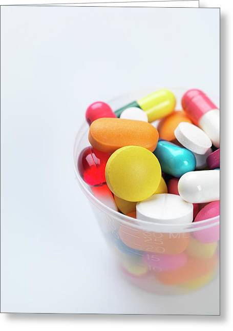 Pills Greeting Card