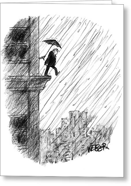 New Yorker May 22nd, 2000 Greeting Card
