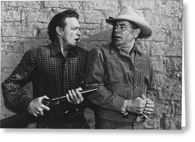 3:10 To Yuma  Greeting Card by Silver Screen