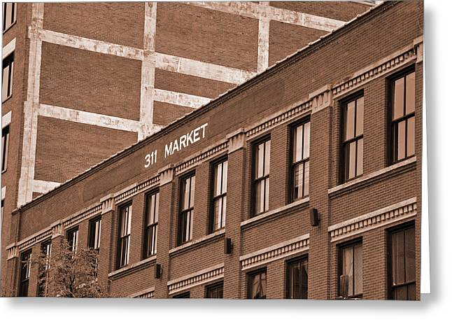 311 Market Street Greeting Card