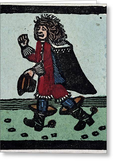 Illustration Of English Tales Folk Tales And Ballads Greeting Card by English School