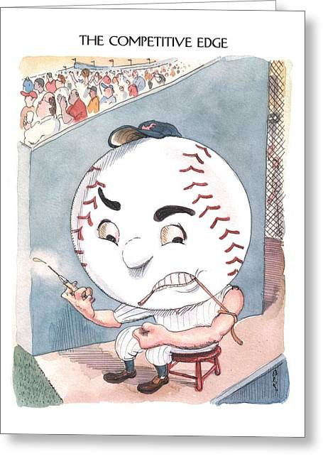Untitled Greeting Card by Barry Blitt