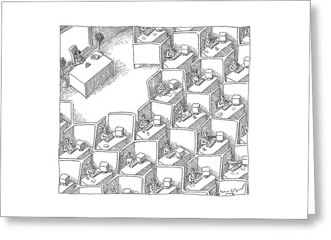 New Yorker November 15th, 2004 Greeting Card