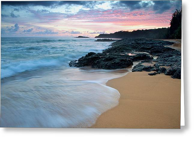 Usa, Hawaii, Kauai Greeting Card by Jaynes Gallery