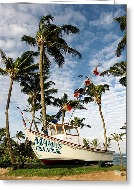 Hawaii Greeting Card by Sergi Reboredo
