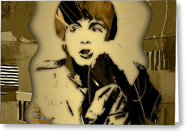 Paul Mccartney Collection Greeting Card by Marvin Blaine