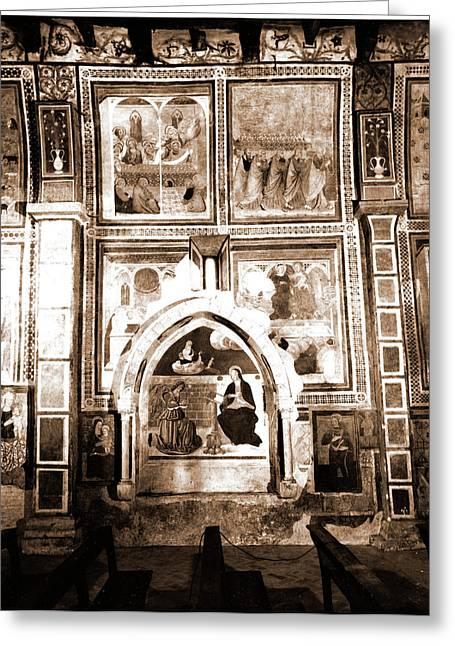 Abruzzo, Laquila, Fossa Greeting Card