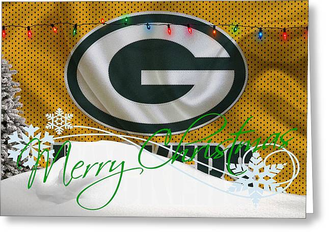 Green Bay Packers Greeting Card