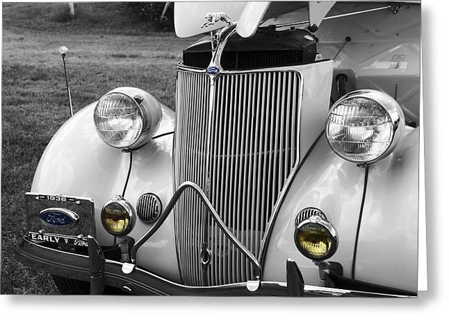 '36 Ford Coupe Greeting Card