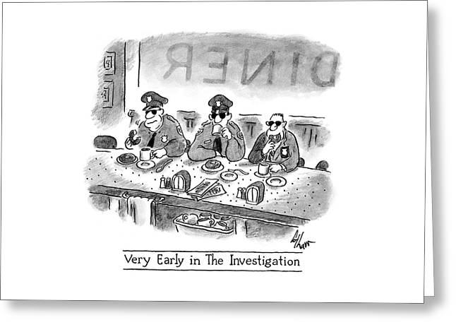New Yorker November 17th, 2008 Greeting Card
