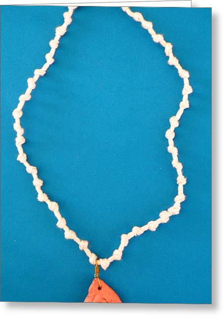 Aphrodite Gamelioi Necklace Greeting Card by Augusta Stylianou