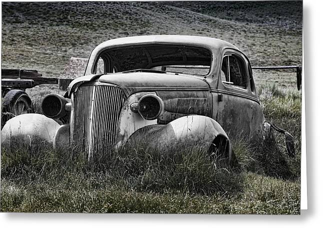 37 Chev Greeting Card by Kelley King