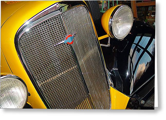 37 Chevy Panel Delivery Greeting Card