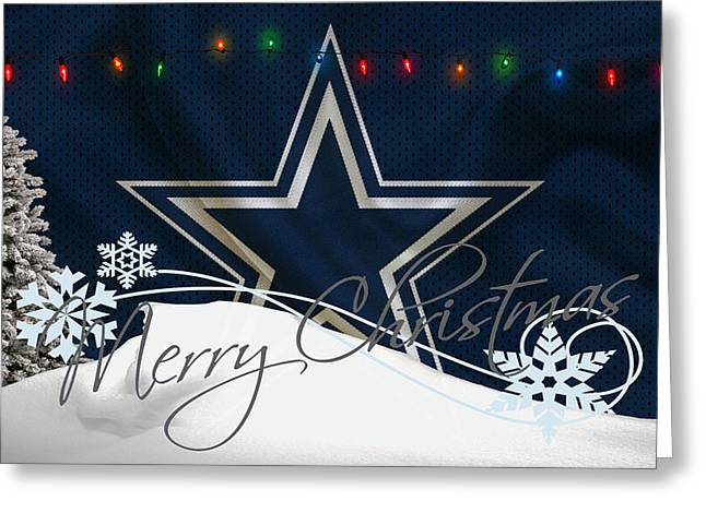 Dallas Cowboys Greeting Card