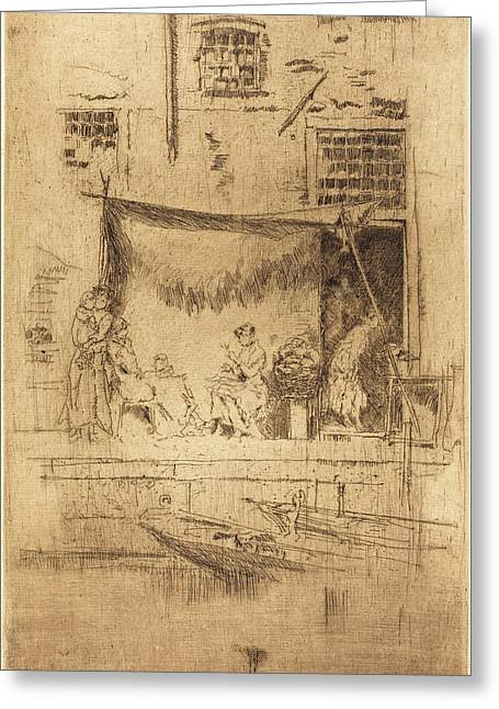 James Mcneill Whistler American, 1834 - 1903 Greeting Card by Quint Lox