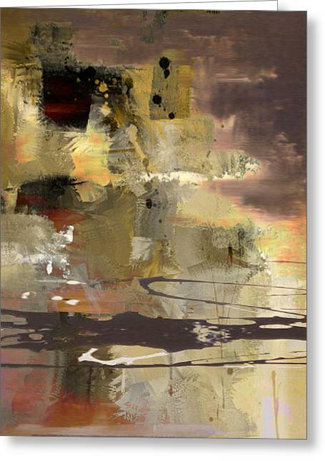 Abstract Greeting Card by Lee Ann Asch