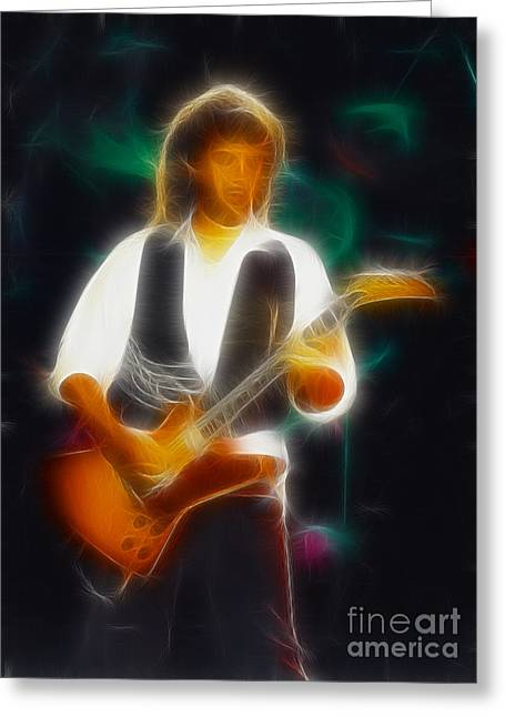 38 Special-94-jeff-gc19-fractal Greeting Card by Gary Gingrich Galleries