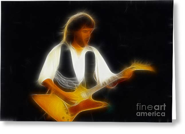 38 Special-94-jeff-gc25-fractal Greeting Card by Gary Gingrich Galleries
