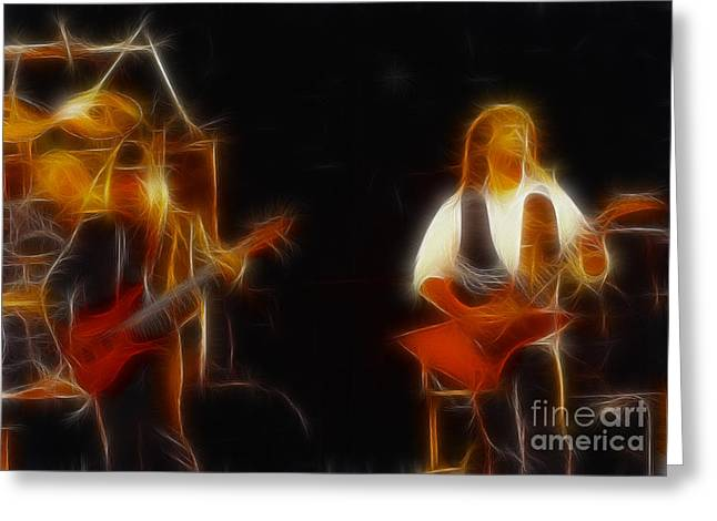 38 Special-94-larry N Jeff-gb20a-fractal Greeting Card by Gary Gingrich Galleries