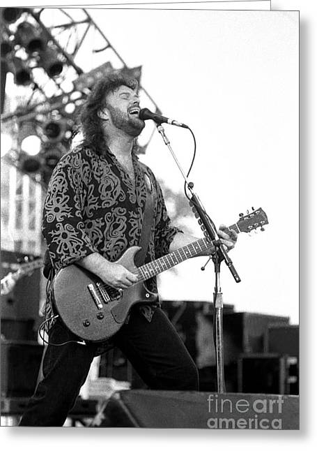 .38 Special - Don Barnes Greeting Card by Concert Photos