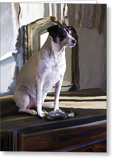 38. Ugly Dog Greeting Card