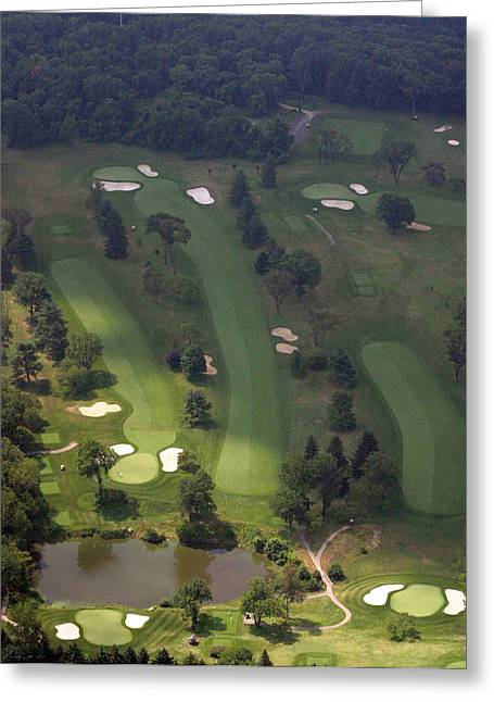 3rd Hole Sunnybrook Golf Club 398 Stenton Avenue Plymouth Meeting Pa 19462 1243 Greeting Card by Duncan Pearson