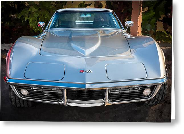 1969 Chevrolet Corvette 427 Greeting Card by Rich Franco