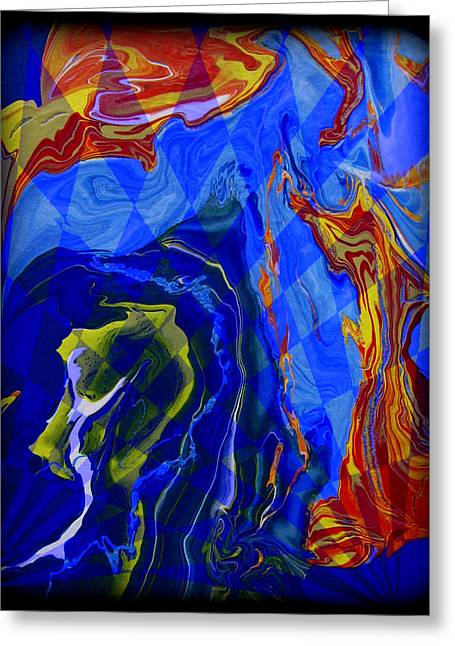 Abstract 30 Greeting Card by J D Owen