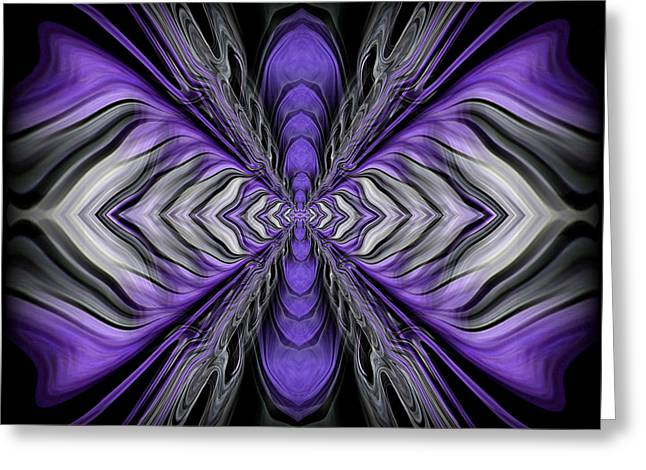 Abstract 73 Greeting Card by J D Owen