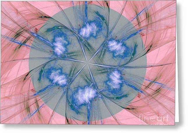 Abstract Background  Greeting Card by Odon Czintos