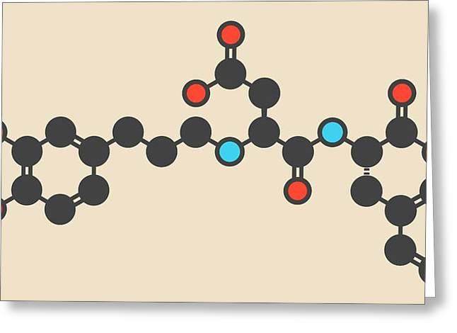 Advantame Sugar Substitute Molecule Greeting Card by Molekuul