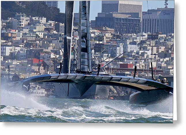 America's Cup 34 Greeting Card
