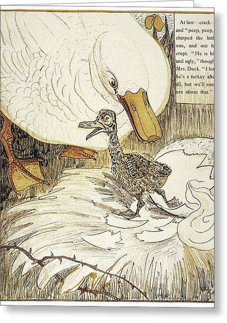 Andersen Ugly Duckling Greeting Card by Granger
