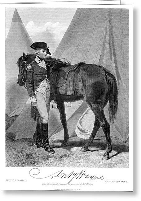 Anthony Wayne (1745-1796) Greeting Card by Granger