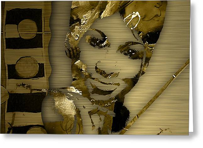 Aretha Franklin Collection Greeting Card