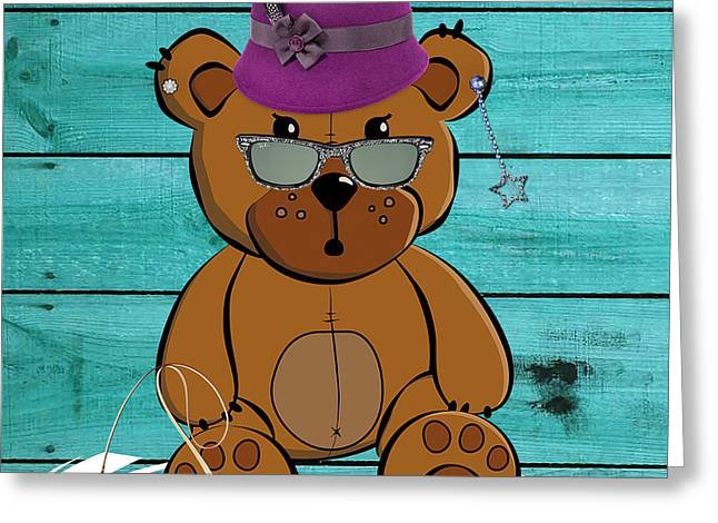 Baby Bear Collection Greeting Card by Marvin Blaine