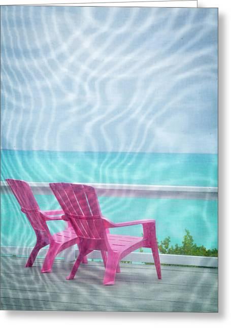 Bahamas, Little Exuma Island Greeting Card by Jaynes Gallery