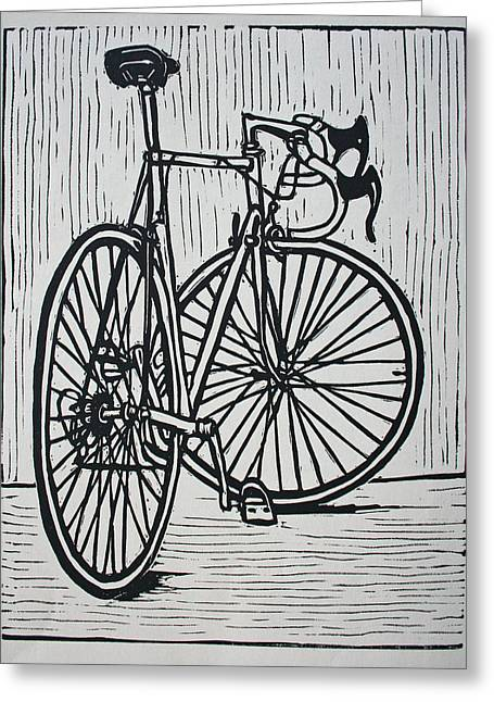 Bike 4 Greeting Card by William Cauthern
