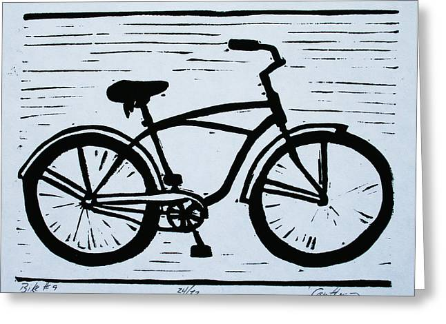 Bike 9 Greeting Card by William Cauthern